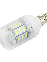 2W Clear PVC Cover E14 LED Corn Light 27 SMD 5730 150-200Lm AC/DC 12-24V or AC 110-220V Warm /Cool White 1pcs