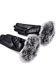 ms cyclisme hiver gants en cuir