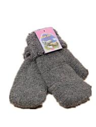 (Note - gris foncé) laine ms gants chauds