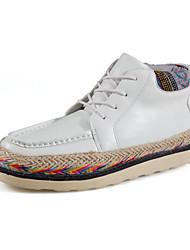 Femme-Décontracté-Noir / Marron / BlancConfort-Sneakers-Polyuréthane