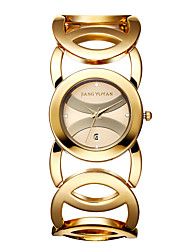 JIANGYUYAN Women's Fashion Watch Japanese Quartz Calendar / Water Resistant/Water Proof Alloy Band Casual Black / Gold / Rose Gold Brand