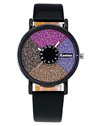 Fashion Candy Leather Strap Watches Casual Creative Women Wristwatch Luxury Quartz Watch Relogio Feminino Gift