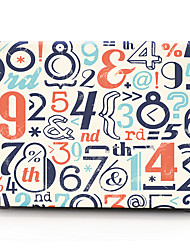 Creative Number Pattern MacBook Computer Case For MacBook Air11/13 Pro13/15 Pro with Retina13/15 MacBook12