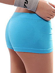 Yoga Pants Shorts / Bottoms Breathable / Comfortable Natural Stretchy Sports Wear Blue Women's Sports Yoga / Pilates