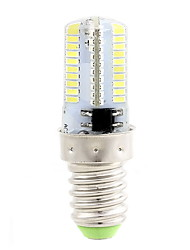 4W E14 Ampoules Maïs LED T 80 SMD 3014 400 lm Blanc Chaud / Blanc Froid Gradable AC 100-240 V