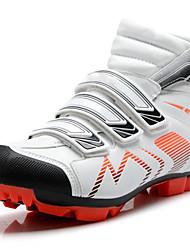 Femme-Extérieure Sport-Noir Blanc-Talon Plat-Confort-Chaussures d'Athlétisme-Microfibre