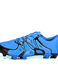 Boy's Athletic Shoes Fall / Winter Comfort Tulle Casual Flat Heel Lace-up Black / Blue / Green / Red Soccer