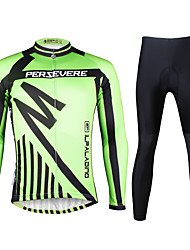 Ilpaladin Sport Men Long Sleeve Cycling Jerseys Suit CT731