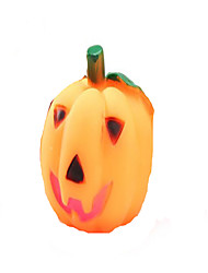Dog Pet Toys Squeaking Toy Pumpkin Orange Rubber