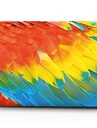 "Case for Macbook 13"" Macbook Air 11""/13"" Macbook Pro 13"" MacBook Pro 13"" with Retina display Color Gradient Plastic Material Colored Feathers"