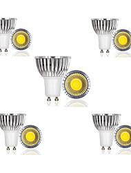 3W E14 / GU10 / GU5.3 / E26/E27 / B22 LED Spotlight 1 COB 300 lm Warm White / Cool White / Natural White AC 85-265 V 10 pcs