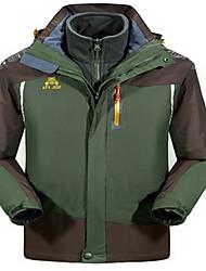 Homens Blusas Acampar e Caminhar Esportes de Neve Corrida Prova-de-Água Térmico/Quente A Prova de Vento Isolado Confortável Inverno