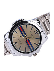 Men's business watches alloy steel with leisure watches