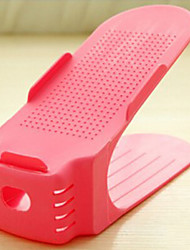 Пластик-В любом месте-Полка / крючки для обуви(Синий / Желтый / Зеленый / Розовый / Красный)