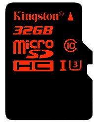 Kingston 32Go TF carte Micro SD Card carte mémoire UHS-I U3 Class10