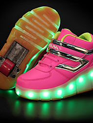 LED Light Up Shoes,Girl's Sneakers Spring / Summer / Fall / Winter Slide / Roller Skate Shoe / Comfort Leather Outdoor / Athletic /