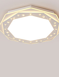 52cm Modern Style Simplicity LED Ceiling Lamp Acrylic Flush Mount Living Room Bedroom Kids Room light Fixture 36W