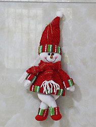 Christmas Toys / Gift Bags Holiday Supplies Santa Suits / Snowman Textile Red / Green All