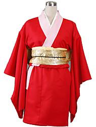 Gintama Anime Cosplay Costumes Kimono Coat / Corset / Belt Female