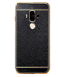 For Huawei P8 P8 Lite Luxury Genuine Leather Case TPU Soft For Huawei P8 P8 Lite P9 P9 Lite P9 Plus Mate 9