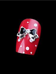 5 Unha Arte Decoração strass pérolas maquiagem Cosméticos Prego Design Arte