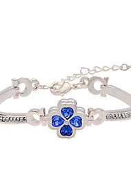 Bracelet Chain Bracelet Alloy Leaf / Others Personalized Birthday / Gift / Wedding / Party / Daily / Casual Jewelry Gift Blue,1pc