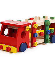 Educational Toy Novelty Toy Toys Novelty Truck Wood Rainbow For Boys / For Girls