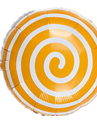 Balloons Holiday Supplies Circular Orange For Boys / For Girls 2 to 4 Years / 5 to 7 Years