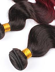 Âmbar Cabelo Malaio Onda de Corpo tece cabelo