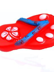 Игрушка для собак Игрушки для животных Игрушки с писком Скрип Туфли Красный Резина