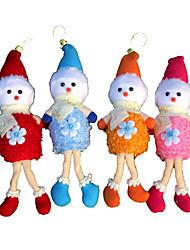 Christmas Decorations / Christmas Party Supplies / Christmas Toys / Christmas Tree Ornaments Holiday Supplies 4Pcs ChristmasMetal