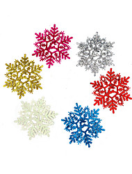 Christmas Decorations / Christmas Party Supplies Holiday Supplies Circular Plastic Rainbow/2Packs