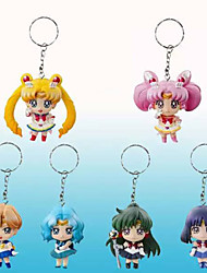 Sailor Moon Sailor Moon PVC 5 Anime Action-Figuren Modell Spielzeug Puppe Spielzeug
