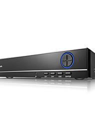 SANNCE® 4CH 720P Multi-mode input  eCloud HDMI 1080P/VGA/BNC CCTV System DVR