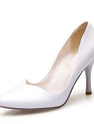 Women's Heels Spring / Summer / Fall Others Leatherette Wedding / Party & Evening / Dress Stiletto Heel Slip-onBlack / Blue / Pink /