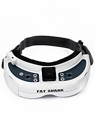 Geral Geral RC FPV Goggles / VR Branco Metal 1 Peça