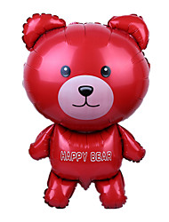 Balloons Holiday Supplies Animal Aluminium Red For Boys / For Girls 5 to 7 Years