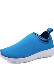 Men's Sneakers Spring / Fall Comfort PU Outdoor / Casual Flat Heel Slip-on Blue / Gray / Navy Others