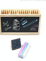 Blocs de Construction Jouet Educatif Pour cadeau Blocs de Construction Loisirs Carré Bois 8 à 13 ans 14 ans & Plus Noir Jouets