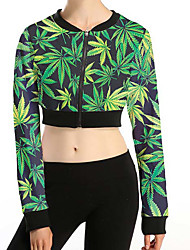Women's Active Jacket,Print