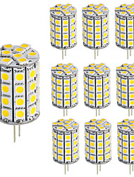 G4 LED Bulb 49 LEDs 5050 DC/AC12V for Chandelier Energy Saving Light Home Lighting (10 Pieces)