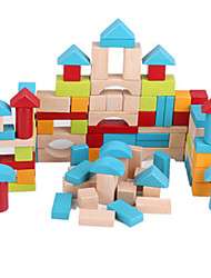 DIY KIT For Gift  Building Blocks Wood 5 to 7 Years / 8 to 13 Years Rainbow Toys