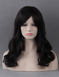 Stunning Long Capless Wigs Natural Wavy Human Hair