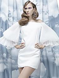 Таиланд прилив бренда дамы темперамент плиссированной платье годовое собрание слоеного лодка шеи платье без бретелек