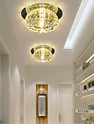 20W Modern/Contemporary Crystal / Mini Style Flush Mount Living Room / Bedroom / Dining Room / Kitchen