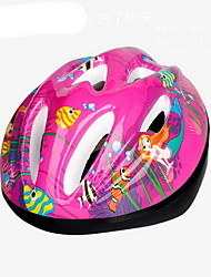 Kid's Bike Helmet 9 Vents Cycling Cycling Small: 51-55cm PVC Red Black/Blue