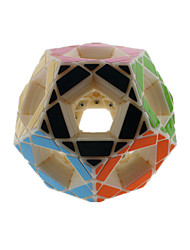Toys Smooth Speed Cube Megaminx Novelty Stress Relievers Magic Cube Beige Plastic