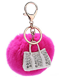 Key Chain Key Chain Peach Metal / Plush