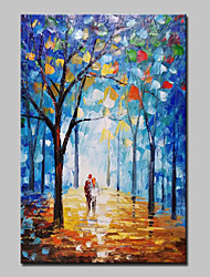 Hand Painted Landscape Oil Paintings On Canvas Modern Abstract Lovers Picture Wall Art For Home Decoration Ready To Hang
