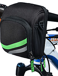 Bike BagBike Handlebar Bag Waterproof Waterproof Zipper Wearable Phone/Iphone Breathable Touch Screen Shockproof Bicycle Bag NylonCycle